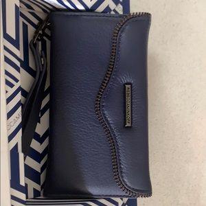 Rebecca Minkoff Wristlet NIB Blue Leather